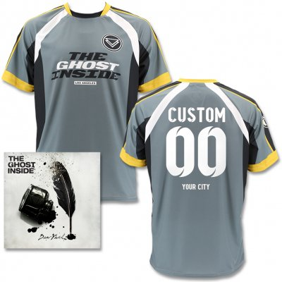 The Ghost Inside - Dear Youth CD & Custom Soccer Jersey