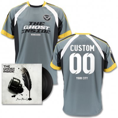 The Ghost Inside - Dear Youth LP (Black) & Custom Soccer Jersey