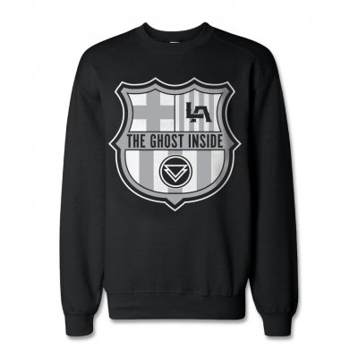The Ghost Inside - Barca Crewneck Sweatshirt (Black)