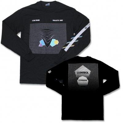 com-truise - Galactic Melt Longsleeve T-Shirt (Reflective Print
