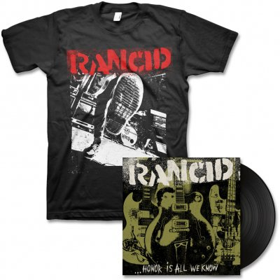 epitaph-records - Honor Is All We Know - LP & Boot Tee