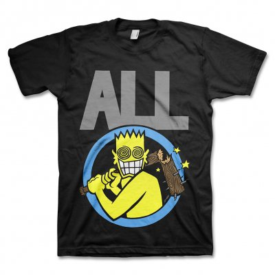 Descendents - Allroy Broken Bat T-Shirt (Black)