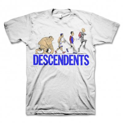 Descendents - Ascent Of Man Tee (White)