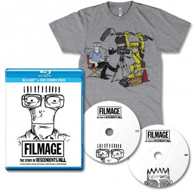 Descendents - Filmage DVD/BLU-RAY & Interview tee