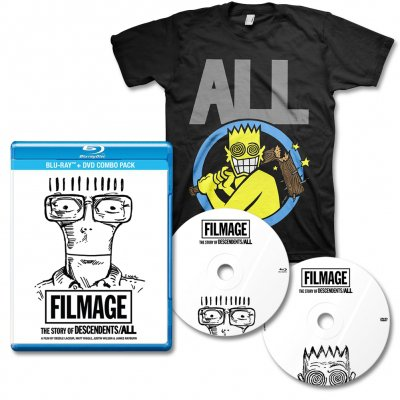 Descendents - Filmage DVD/BLU-RAY & Allroy Bat Tee