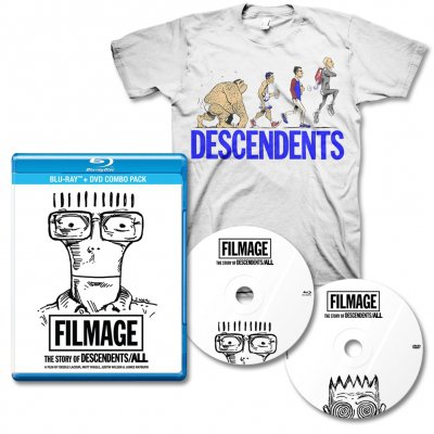 all - Filmage DVD/BLU-RAY & Ascent Of Man Tee