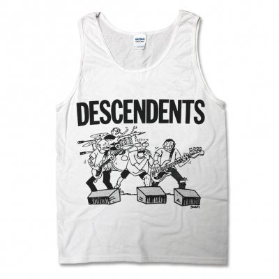 descendents - Live Cartoon Tank Top (White)