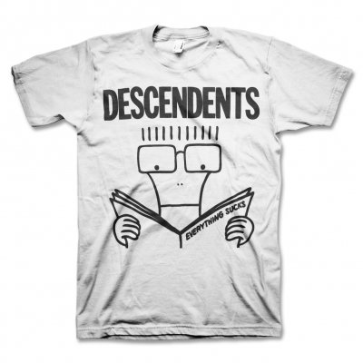 Descendents - Everything Sucks Slimfit Tee (White)