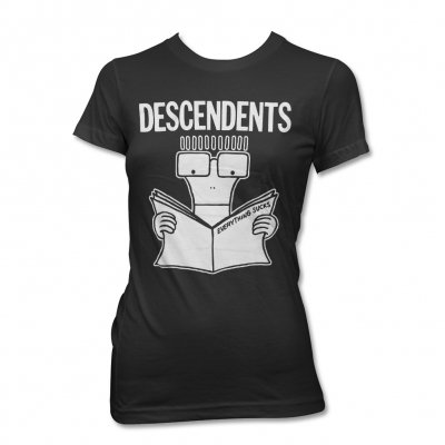 Descendents - Everything Sucks Womens Tee (Black)