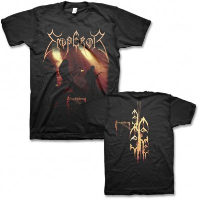 Emperor - Live Inferno T-Shirt (Black)