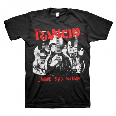 rancid - Honor Is All We Know Cover T-Shirt