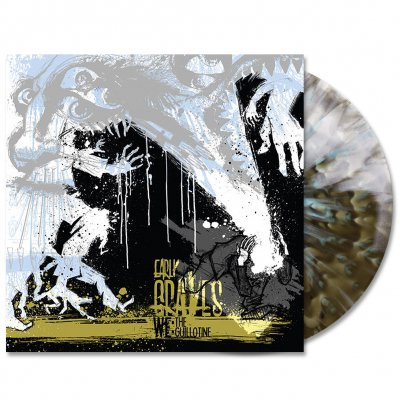 early-graves - We:The Guillotine LP (Blue/Gold Splatter)
