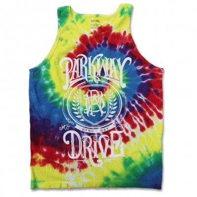 parkway-drive - Crest Tie Dye Tank Top