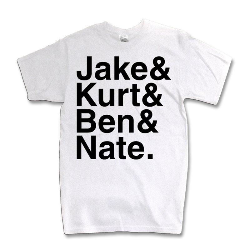 IMAGE   Names T-Shirt (White)