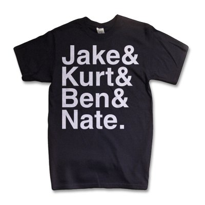 Names T-Shirt (Black)