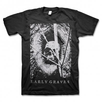 early-graves - Human Skull T-Shirt (Black)