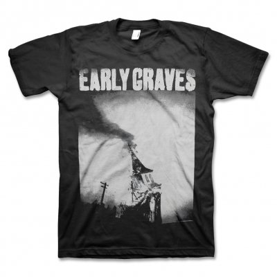 early-graves - Church Burner T-Shirt (Black)