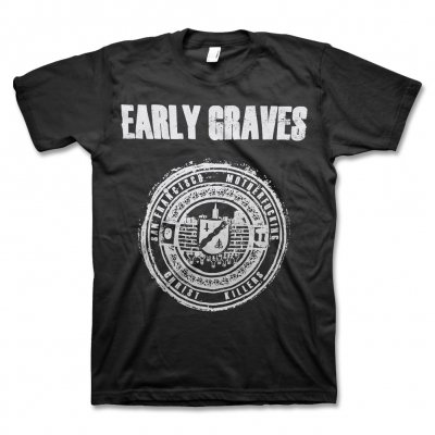 early-graves - Christ Killers Crest T-Shirt (Black)