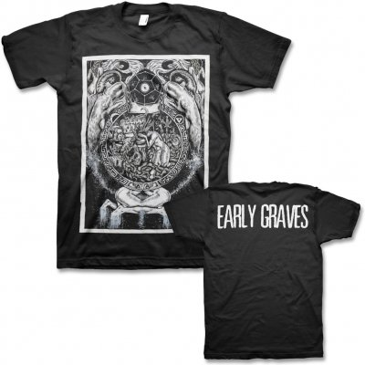 early-graves - Cosmic Whales T-Shirt (Black)