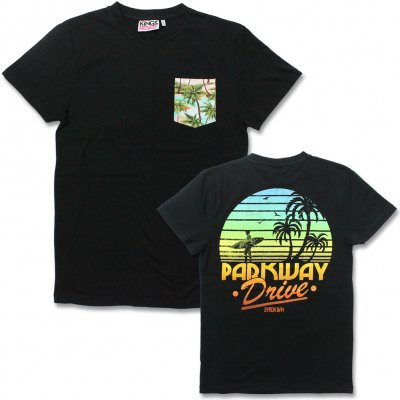 Parkway Drive - Tropical Pocket T-Shirt