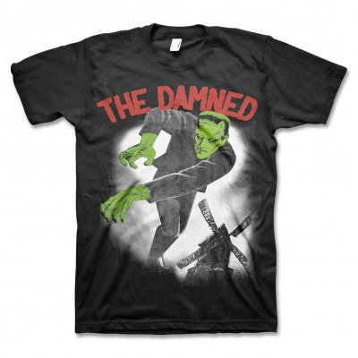 The Damned - Frankendamned T-Shirt (Black)