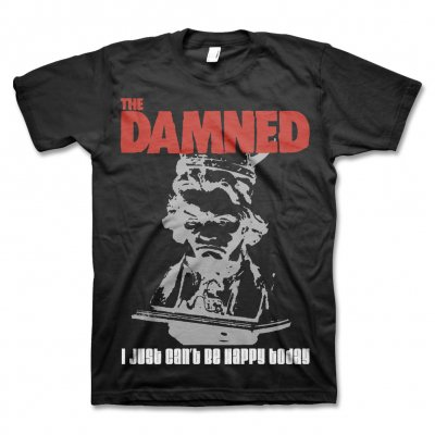 The Damned - Can't Be Happy T-Shirt (Black)