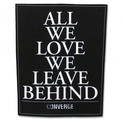 converge - AWLWLB Text Back Patch