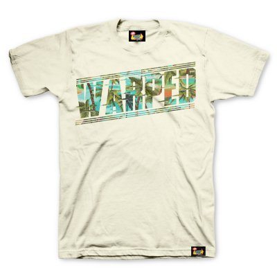 vans-warped-tour - 5 Speed Palms T-Shirt (Natural)