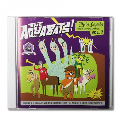 the-aquabats - Myths, Legends & Other Amazing Adventures Vol.2 CD