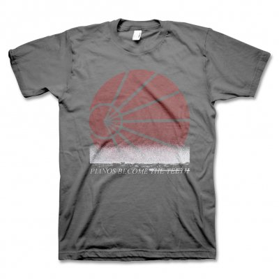 pianos-become-the-teeth - PBTT Logo Tour T-Shirt (Grey)