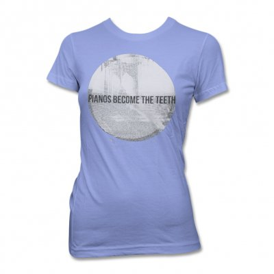pianos-become-the-teeth - Alps T-Shirt - Women's (Blue)