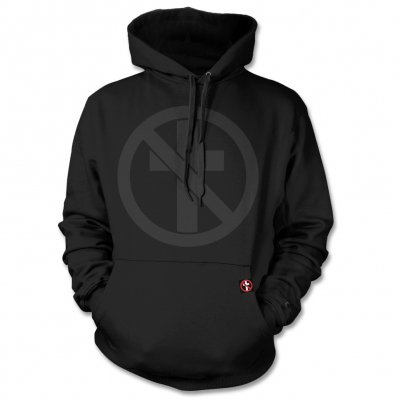 Bad Religion - Monochrome Crossbuster Pullover Sweatshirt (Black)