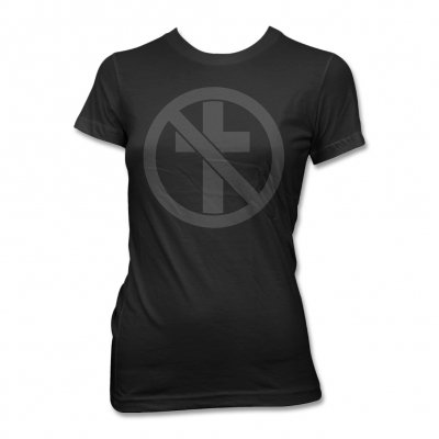 Bad Religion - Monochrome Crossbuster T-Shirt - Women's (Black)