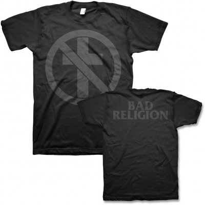 Bad Religion - Monochrome Crossbuster T-Shirt (Black)