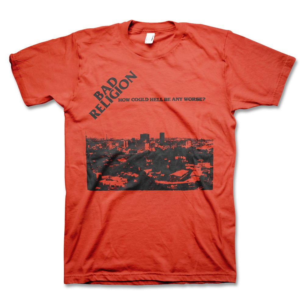 IMAGE | Bad Religion How Could Hell Tee (Red)
