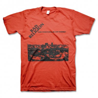 Bad Religion - Bad Religion How Could Hell Tee (Red)