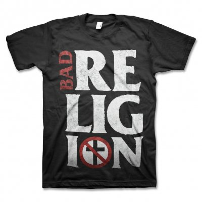 Bad Religion - Stacked Logo Tee (Black)