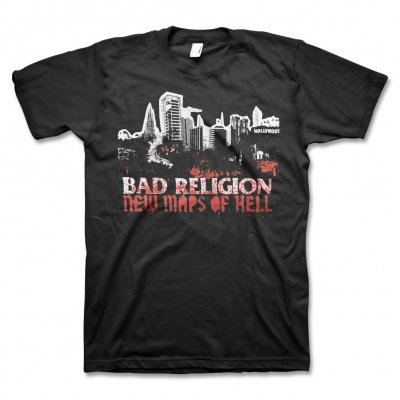 Bad Religion - New Maps Of Hell Shirt (Black)