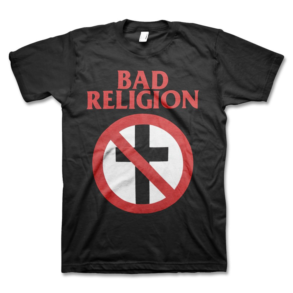 Bad Religion Classic Crossbuster Tee (Black)