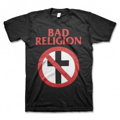 Bad Religion Classic Crossbuster Tee (Black)