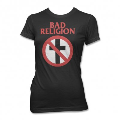 Bad Religion - Women's Crossbuster Tee (Black)