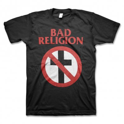 Bad Religion - Distressed Crossbuster Tee (Black)