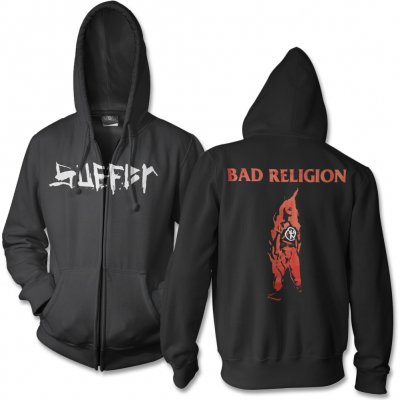 Bad Religion - Suffer Zip Hoodie (Black)