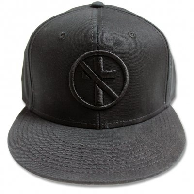 Bad Religion - Monochrome Crossbuster Snapback Hat (Black)
