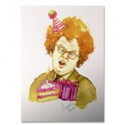tim-and-eric - Dr. Steve Brule Birthday Card