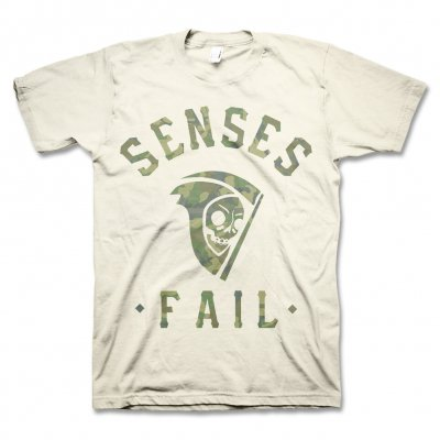 senses-fail - Camo Scythe T-Shirt (Natural)