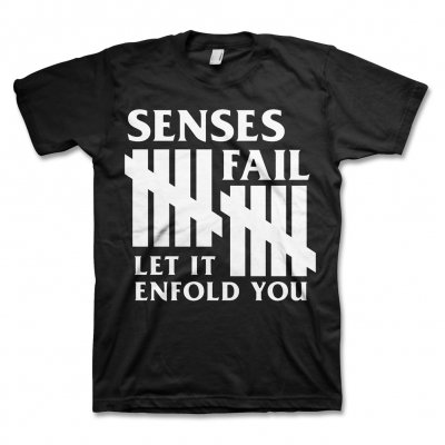senses-fail - 10 Year T-Shirt (Black)