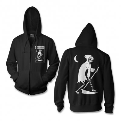 senses-fail - Death Card Zip Up Sweatshirt