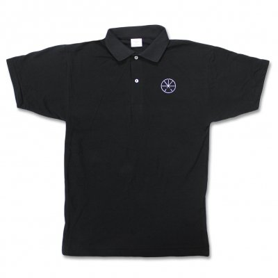 Touche Amore - Asterisk Logo Embroidered Polo Shirt (Black)