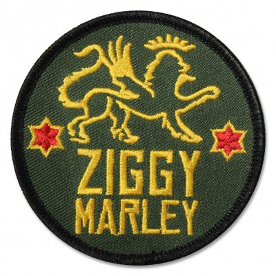 Ziggy Marley - Lion Stars Embroidered Patch